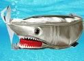 Shark Single-shoulder Bag Silver