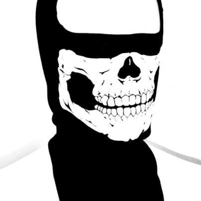 Skull Face Ghost SKI Mask