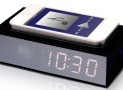 Smartphone Induction Speaker with Alarm Clock