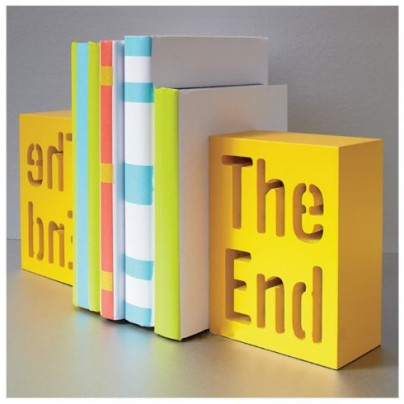 Solid decorative bookends