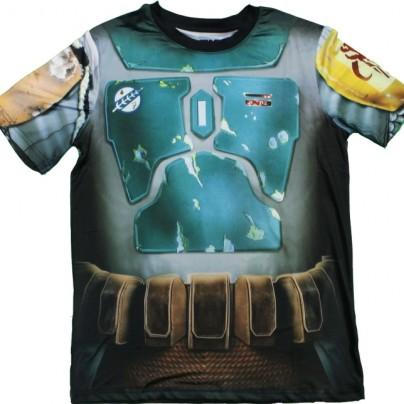 Star Wars Boba Fett Performance Athletic Costume T-Shirt