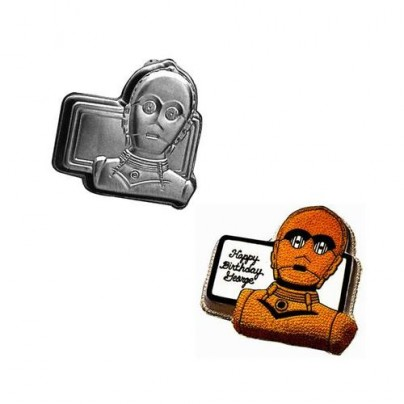 C-3PO Star Wars Cake Pan