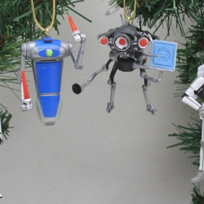 Star Wars Star Tours Holiday Ornament Set