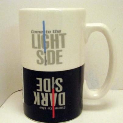 Star Wars Dark/Light Side Mug