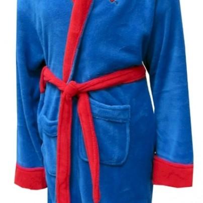 Superman Logo Plush Robe for men