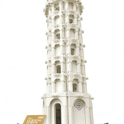 Tower of Pisa  Lego