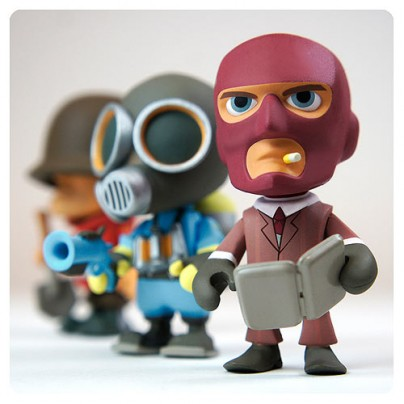 Team Fortress 2 Blind Box 3-Inch Vinyl Figure Display Box