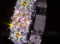 USB Jewel Flowers Bracelet Flash Drive