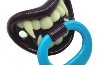 Vampire Pacifier for Baby Boys