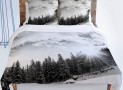 White Mountain Duvet Cover