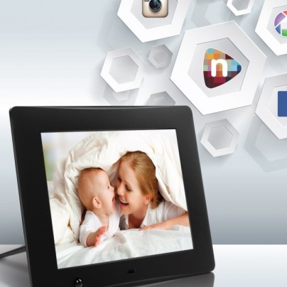 Wi-Fi Cloud Digital Photo Frame