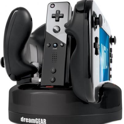 Wii U Quad Dock Revolution Charger