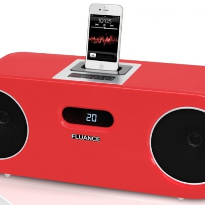 Wood Speaker Dock Music System for iPod/iPhone