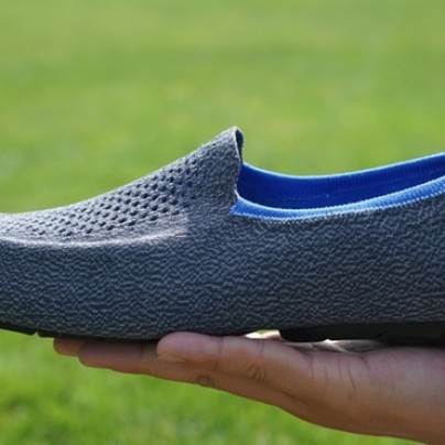 World's First 3D Knitted Shoes