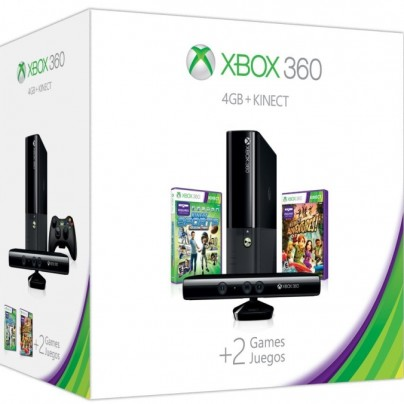 Xbox 360 E 4GB Kinect Holiday Value Bundle