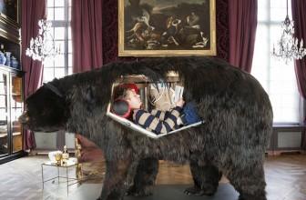 Lives inside a bear