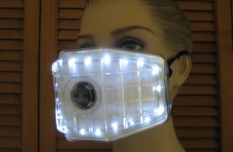 lighted ventilation mask