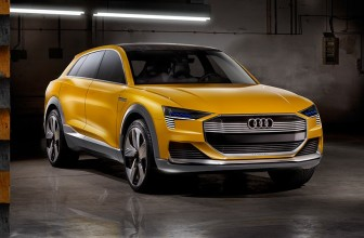 AUDI explores hydrogen fuel cells with h-tron quattro concept