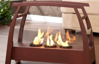 Vasilis Portable Indoor/Outdoor Gel Fuel Fireplace
