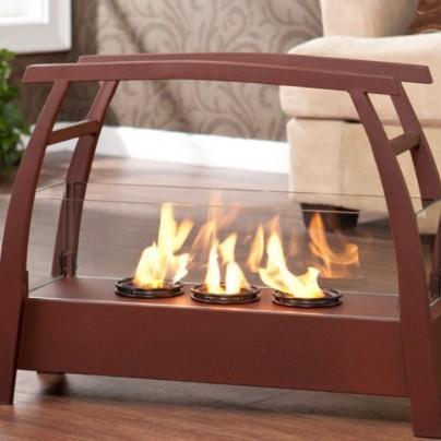 Vasilis Portable Indoor/Outdoor Gel Fuel Fireplace