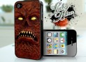 iPhone 4 4s Hard Case -Evil Dead Necronomicon Book