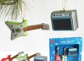 GUITAR & AMP CHRISTMAS ORNAMENTS