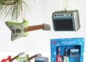 GUITAR & AMP CHRISTMAS ORNAMENTS
