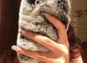 Luxury Fur Case for Iphone 5