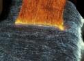 Luminous Fiber Optics Bed Cover