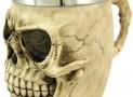 Skull Tankard Stein Drinking Vessel Goth