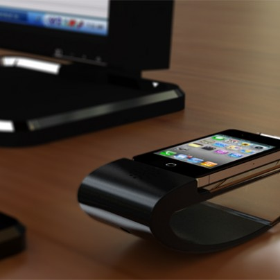 The Stander iPhone dock
