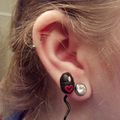 Earring mouse