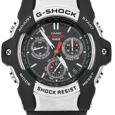Casio Men's GS1001-1A G-Shock Black Dial Shock Resistant Watch