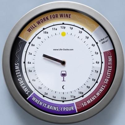 24hr Clock – Vino