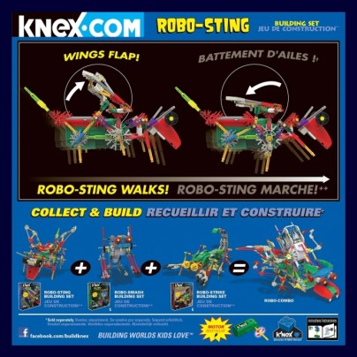 K'NEX Robo – Sting Building Set