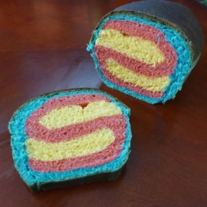 Superman Bread