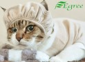 Pet clothes protective head cap