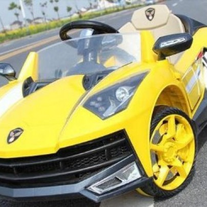 electric ride on Lamborghini car