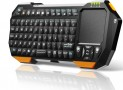 Bluetooth Keyboard Handheld with Multi-Touchpad