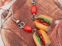 Earrings – Italian Salami Sandwiches
