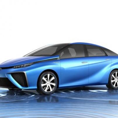 Concept Toyota Hydrogen Car
