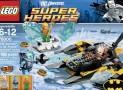 LEGO Super Heroes Arctic Baan vs Mr Freeze