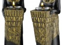 Egyptian Pharaoh Servant Statue Sculpture/Candle Holder