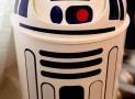 R2D2 wastebasket star wars