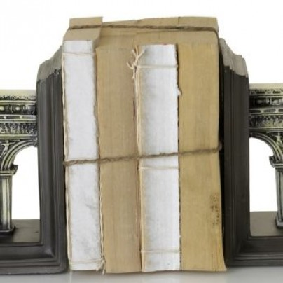 Ivory Arc Bookends