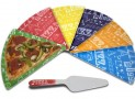Final Touch 7-Piece Melamine Pizza Serving Set