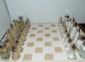 Chess Set & Board salt/pepper shakers