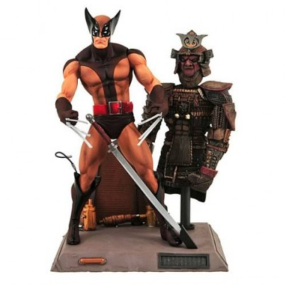Marvel Select Brown Wolverine Action Figure