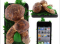 Mushrooms iPhone 4 Cover