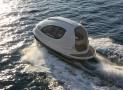 Futuristic water jet capsule
